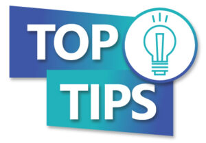 top tip graphic